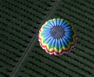 Vol en montgolfière en Bourgogne