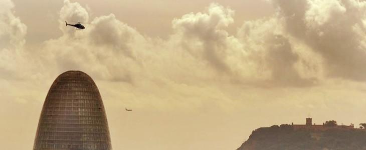 Survol de Barcelone en hélicoptère