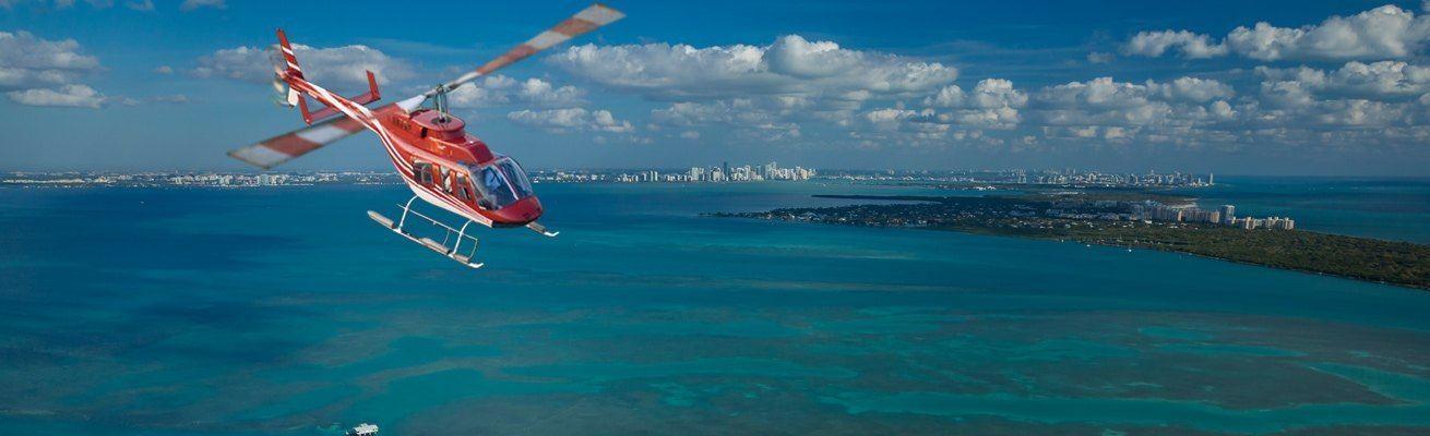 Survol de Miami en hélicoptère